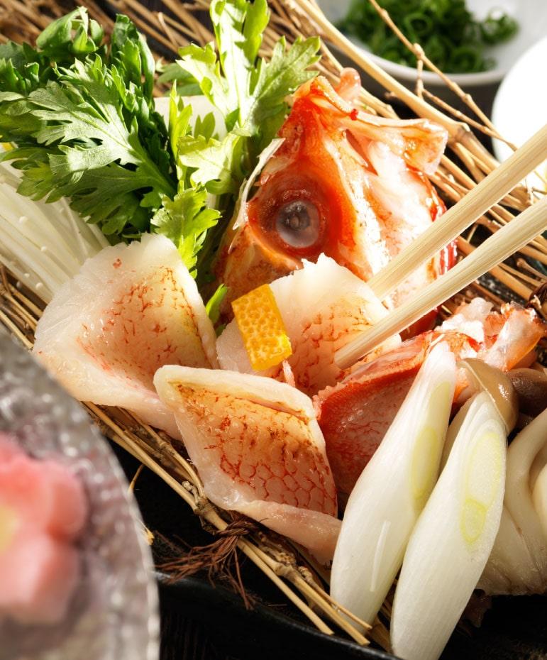 【11月】メンメ(キンキ)の湯煮