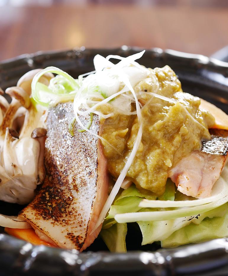 【5月】トキシラズとフキ味噌のチャンチャン焼き