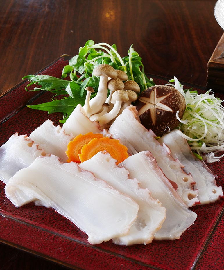【9月】北海水蛸のしゃぶしゃぶ